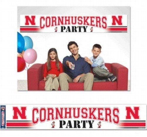 Nebraska Huskers Party Banner