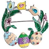 Miles Kimball Easter Wreath Pin
