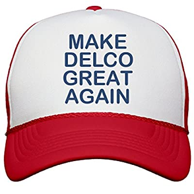 Make Delco Great Again: Snapback Mesh Trucker Hat