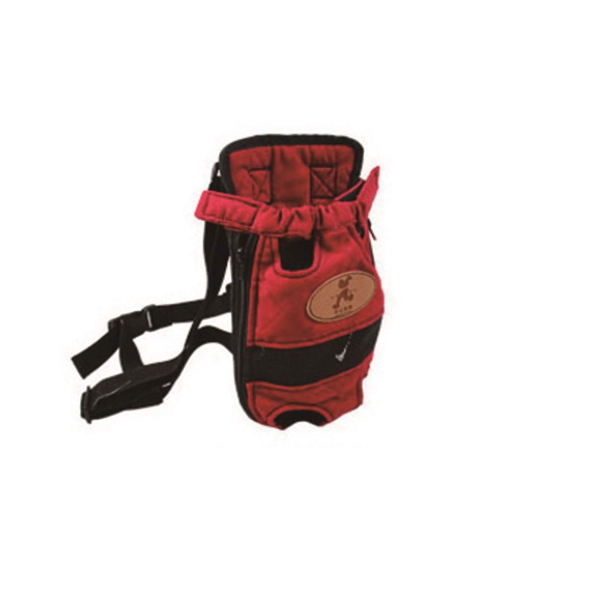 Red HUIJUNWENTI Pet Carrier, Pet Shoulder Carrier, Outing Portable Carrier, Beige, Red, Military Green, bluee (color   Red)