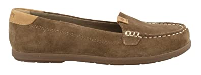 0716c24e705 Sperry Women s Coil Mia Suede Taupe Loafer
