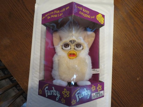 "Furby Model 70-800 White ""Snowball"" Series 1 Electronic Furbie"