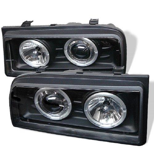 Spyder Auto 444-VCOR90-BK Projector Headlight Corrado Halo Projector Headlights