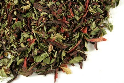 Happy Tea: St. John's Wort Yerba Mate Hibiscus Herbal Tea Natural remedy for Good Mood 3oz 40 Cups BEST VALUE