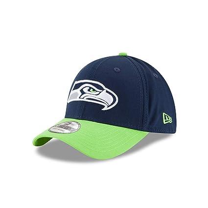 Seattle Seahawks New Era limpia Hit 39THIRTY Flex Fit sombrero ...