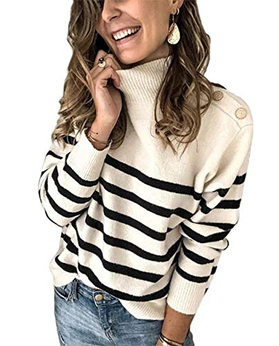 Angashion Womens Leopard Sweaters Casual Long Sleeve Crewneck Color Block Patchwork Pullover Knit Sweater Tops