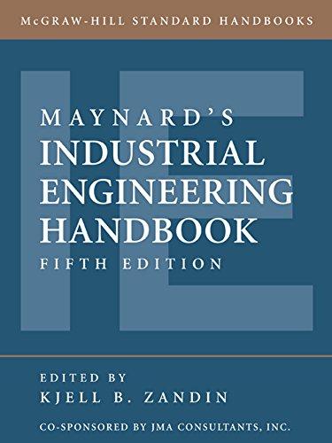 Maynard's Industrial Engineering Handbook (McGraw-Hill Standard Handbooks)