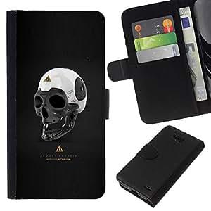 All Phone Most Case / Oferta Especial Cáscara Funda de cuero Monedero Cubierta de proteccion Caso / Wallet Case for LG OPTIMUS L90 // Almost Android