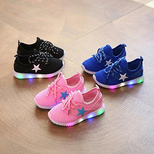 Beauty Top Scarpe Bambino LED con Luci Sneakers Bright Light Scarpe Stivali Lampeggiante bambini Ragazzi Ragazze (EU 29 iFnKQDsHr,