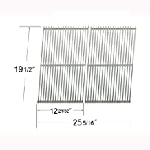 7528-Stainless Steel Grates for Weber Genesis 300 Series Gas Grills