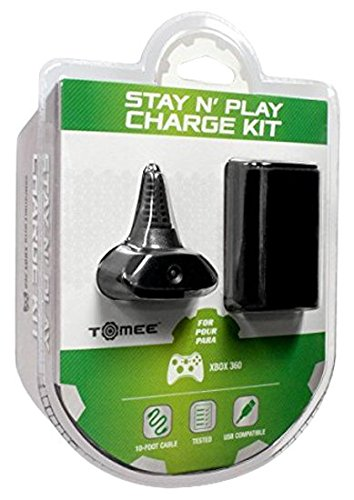 Xbox 360 Hyperkin Charge Kit - Black