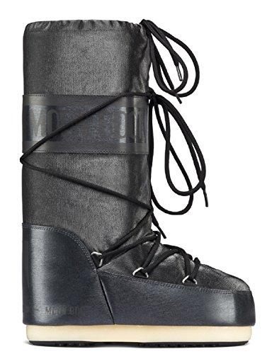 De Charme Deporte Exterior Unisex Zapatillas Negro Moon Boot Adulto qxtT11