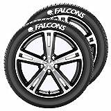 NFL Atlanta Falcons Tire Tatz, One Size, One Color