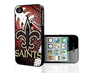 New Orleans Saints Football Sports Hard Snap on Phone Case (iPhone 4S)