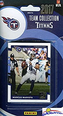 Tennessee Titans 2017 Donruss NFL Football Factory Sealed Limited Edition 13 Card Complete Team Set with Marcus Mariota, Adoree' Jackson RC, Eddie George & Many More! Shipped in Bubble Mailer! WOWZZER
