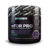 Myokem mTOR PRO Post / Intra Workout BCAA Amino Acid Supplement – Muscle Recovery Drink with BCAAs, EAAs, Leucine, Valine, Isoleucine, Electrolytes and More – Blue Raspberry, 30 Servings For Sale