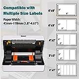 RINIUL Thermal Label Printer, 4''×6'' Direct