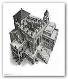 (11x14) M.C. Escher (Ascending and Descending) Art Poster Print