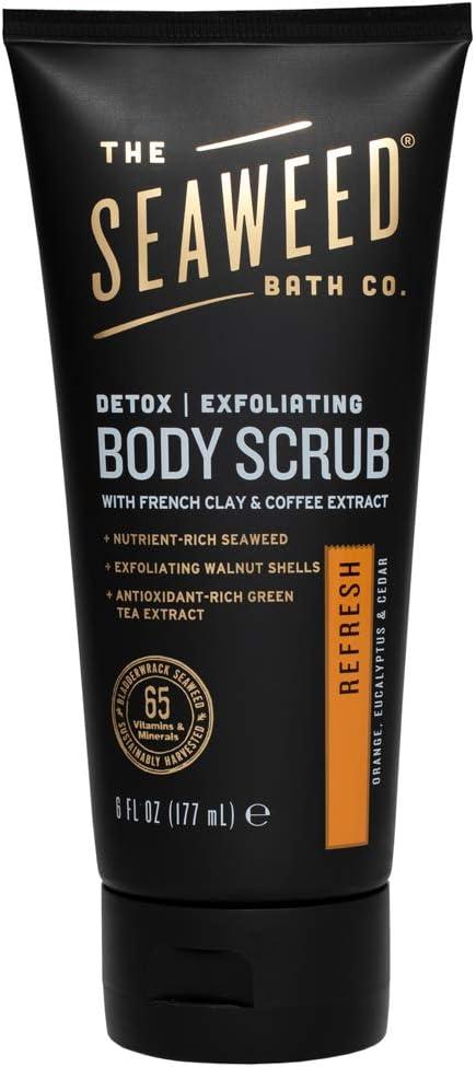 SEAWEED - Exfoliating Detox Scrub, Refresh - 6 fl. oz. (177 ml)