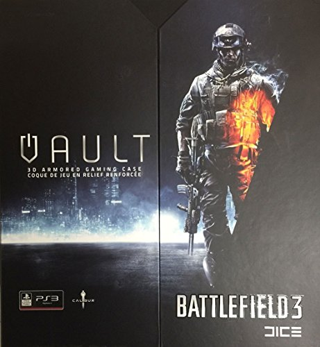 Calibur Battlefield 3 Vault 3D Armored Gaming Case for PS3
