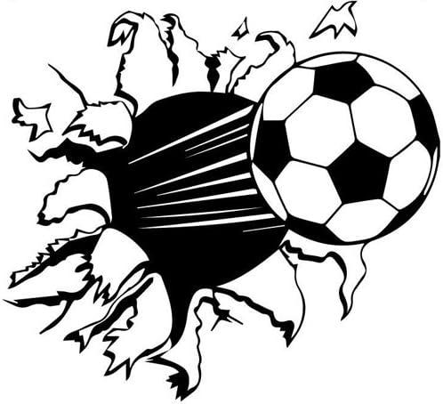 budhasuite® Vinilo Decorativo Balón Futbol.(67x60cm Aprox.) Color ...