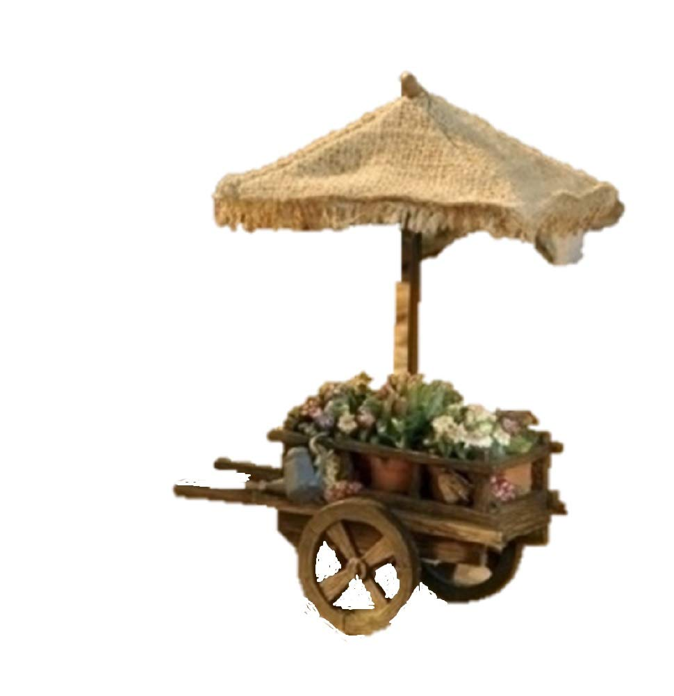 Fontanini Flower Cart Roman Inc.