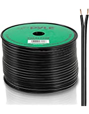 Pyle-Pro PSCBLF500 500-Feet 12 AWG Spool Speaker Cable with Rubber Jacket