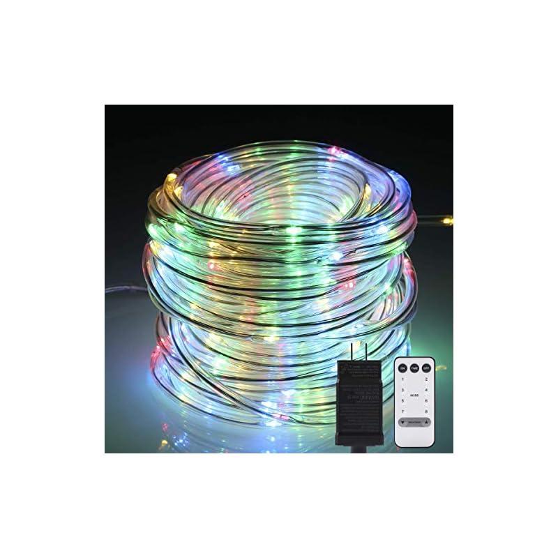 LED Rope Lights, 72ft 200 LEDs String Li