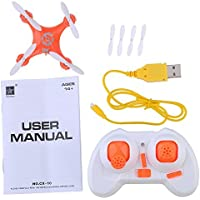 Annong 2.4G 4CH 6 Axis Gyro LED RC Quadcopter Drone for Cheerson cx-10 Mini Quadcopter