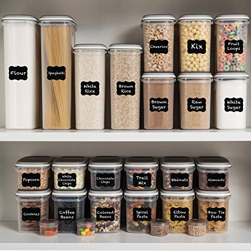 Store bulk items in this 52-piece set