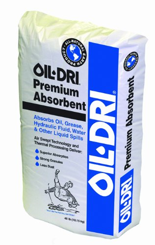 (Oil-Dri I06040-G50 Premium Granular Absorbent Poly Bag, 40 lbs)