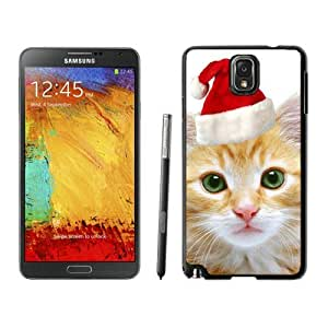 Recommend Design Christmas Cat Black Samsung Galaxy Note 3 Case 4