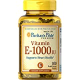 Puritan's Pride Vitamin E-1000 IU-100 Softgels