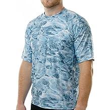 [Sponsored] Aqua Design Men Comfort Fit Rash Guard Surf Swim Sun Protection