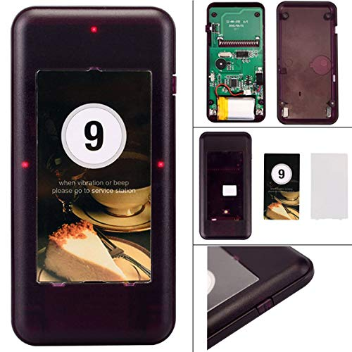 Retekess T113 Restaurant Pager System Wireless Calling System Queuing  Coaster Buzzer System Max 999 Pagers with 16 Rechargeable Pagers for  Restaurant