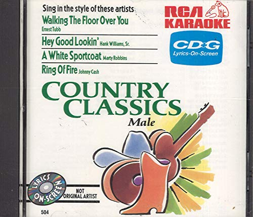 Karaoke: Country Classics Male