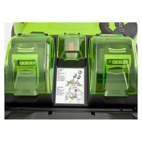 Greenworks 20 Inch 40V Twin Force property Kitchen Features
