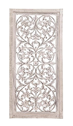 Decorative Mdf Panels (Deco 79 34132 Wood Wall Panel, 24 by 51