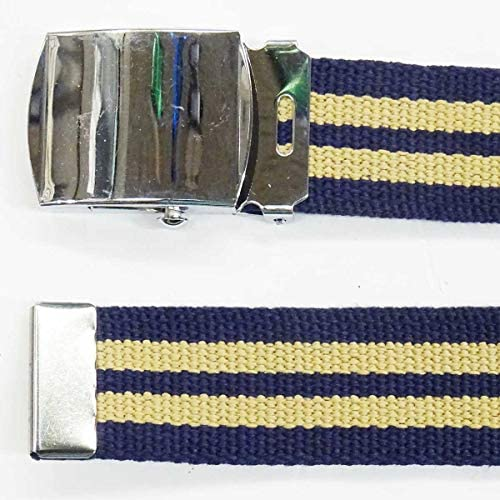 日本製 30mm GIベルト ガチャベルト 綿/レーヨン ストライプ2本ライン 廃番色 1021-904