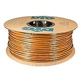 "DIG Corporation Drip Line 500', 6"" Emitter Spacing, 1/4"" .52 GPH, Color : Brown - Drip Irrigation Tubing, Soaker Hose"