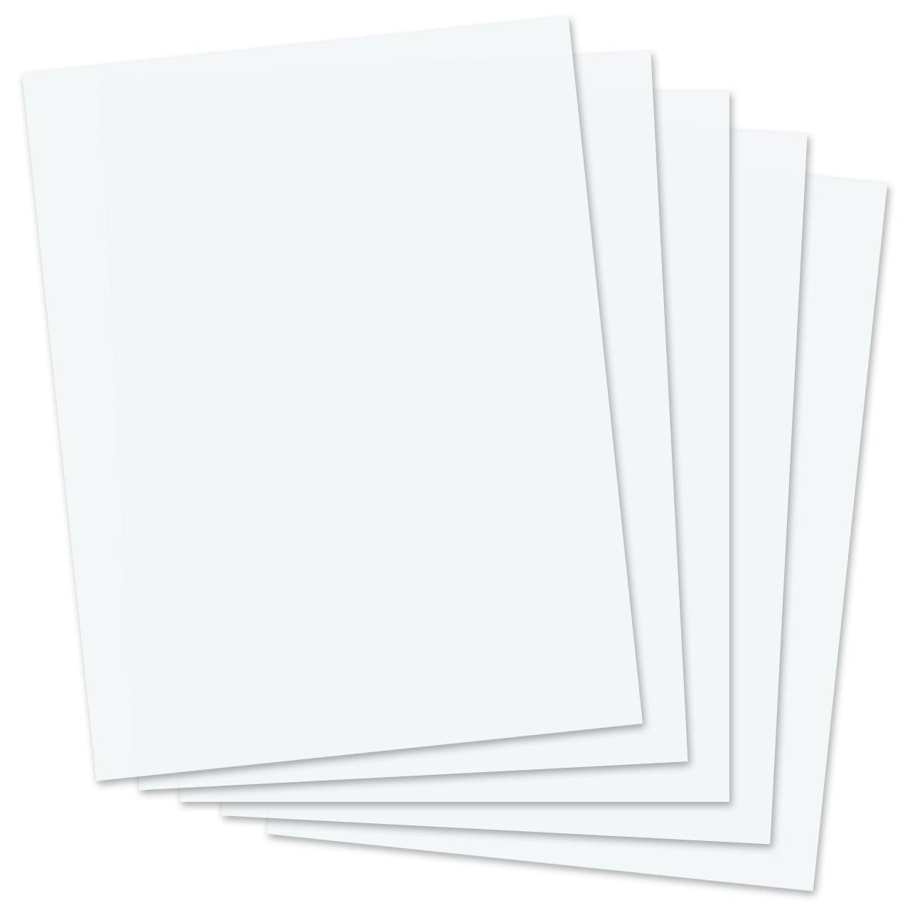 SmartSolve IT117138 8.5'' x 11'' Dissolving Paper (Pack of 25)