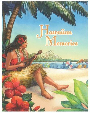 Vintage Hawai`i 64-View Photo Album by Welcome to the Islands