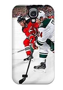 Snap-on Case Designed For Galaxy S4- Minnesota Wild Hockey Nhl (76)