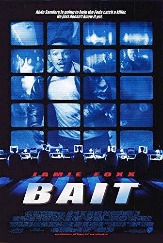 BAIT (2000) Original Authentic Movie Poster 27x40 - ROLLED - Dbl-Sided - Jamie Foxx - David Morse - Robert Pastorelli - David Paymer (Foxx Jamie Bait)