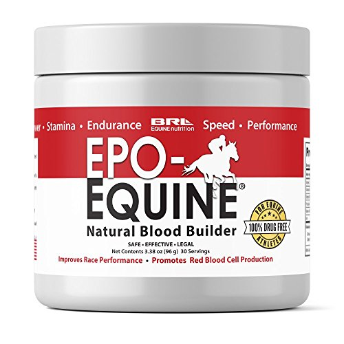 EPO Equine Formula 30 Servings Equine Endurance Supplement 3.38 oz.