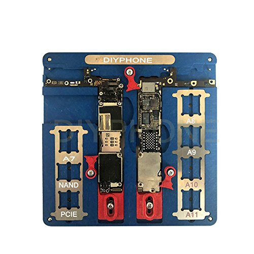 Motherboard Logic Board - VIPFIX MJ A22 Latest Batch Phone Motherboard Repair Fixture Phone CPU Soldering Repair Tool for iPhone A7 A8 A9 A10