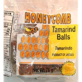 Tamarind Balls – Dulce De Tamarindo – Vegan friendly- Ingredients: Tamarind & Sugar; Product of Jamaica, W.I. (Wt 70g)