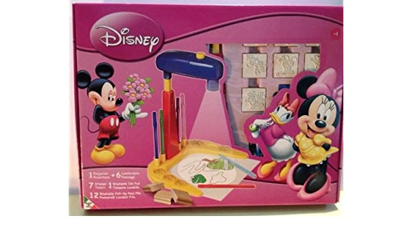 Multiprint Minnie Mouse House Art - Set de proyector, Sellos y ...