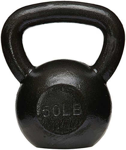 Ball Iron Cast (AmazonBasics Cast Iron Kettlebell, 50 lb)