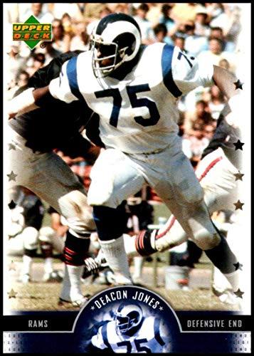2005 Upper Deck Legends #62 Deacon Jones NM-MT Los Angeles Rams Official NFL Football Trading Card ()